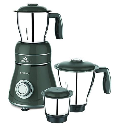 Bajaj Stormix Mixer Grinder Machine with 750W Motor