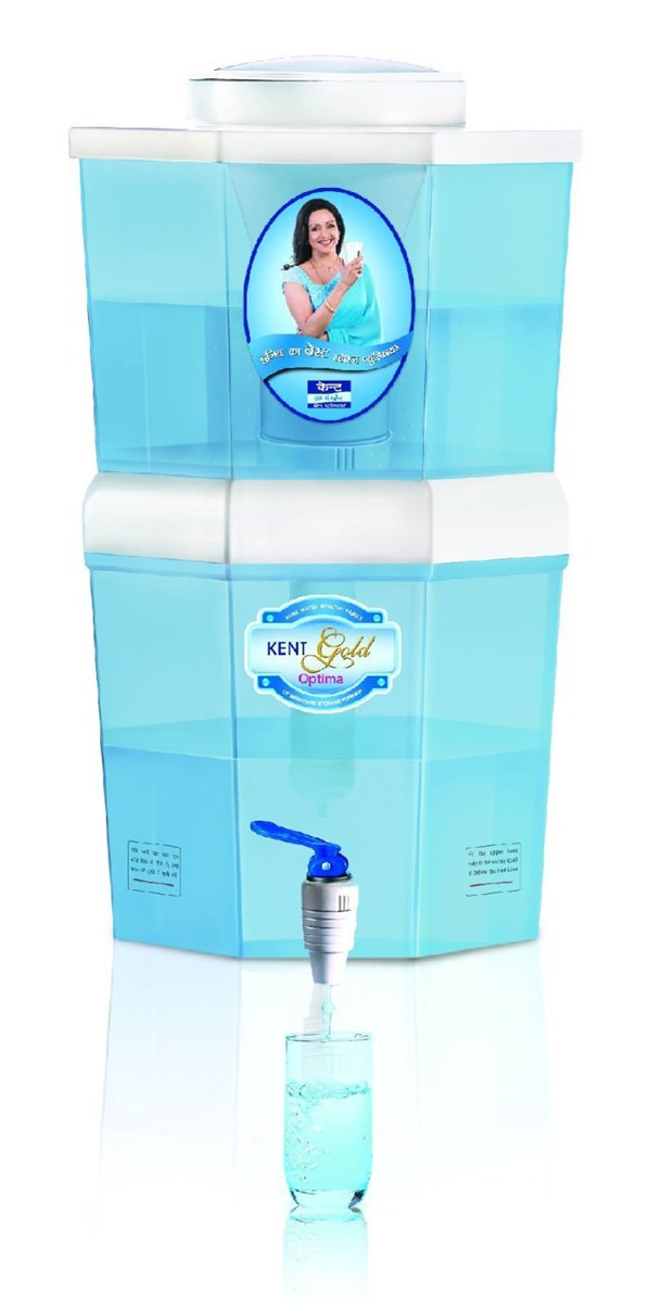 Kent Gold Optima 10 Litre Gravity Based Water Purifier Review Specifications and Price Online in India