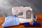 Singer Curvy 8770 Embroidery Sewing Machine in India