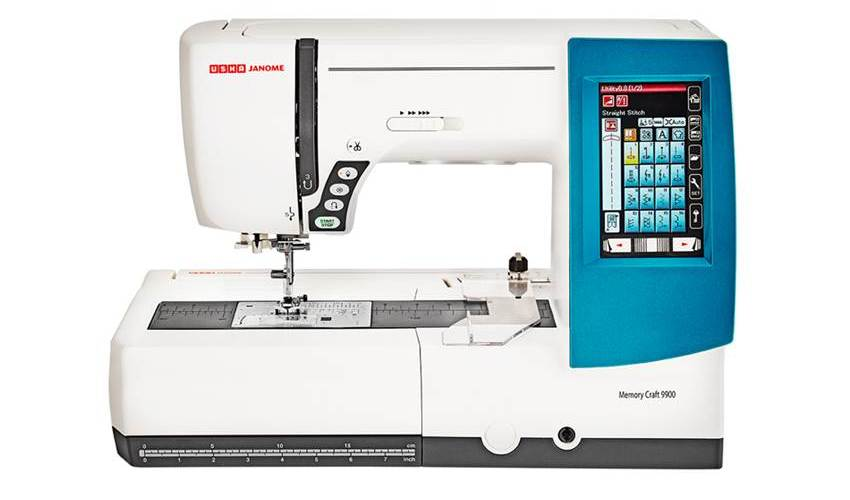 Usha Janome Memory Craft 9900 Review and Specifications