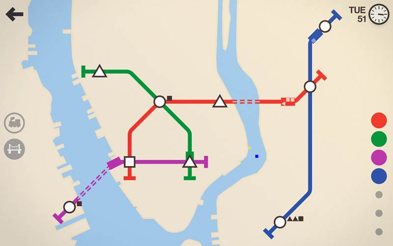 Mini Metro Android Brain Game