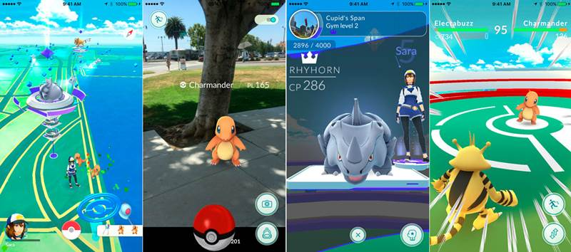 Pokémon Go Android Adventure Game