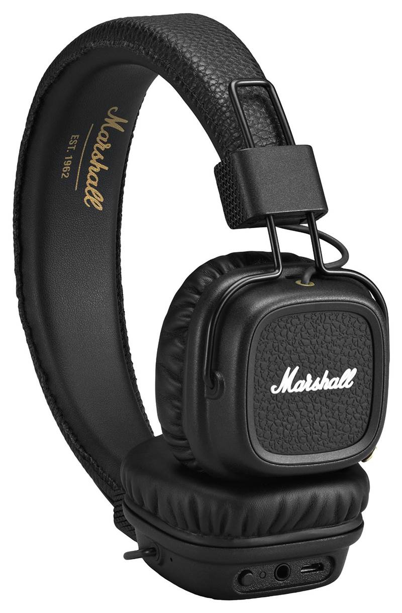 Marshall Major II Bluetooth Headphones Review and Specifications