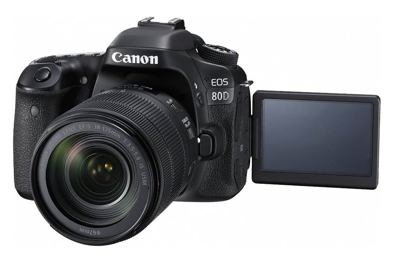 Canon EOS 80D Review and Specifications