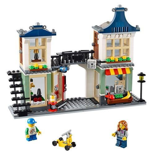 Lego Toy Grocery Shop post office newsstand