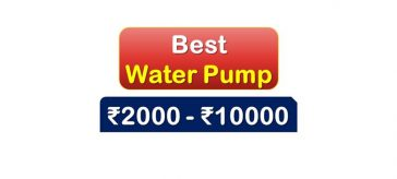Best Selling Water Pump under 10000 Rupees in India Market