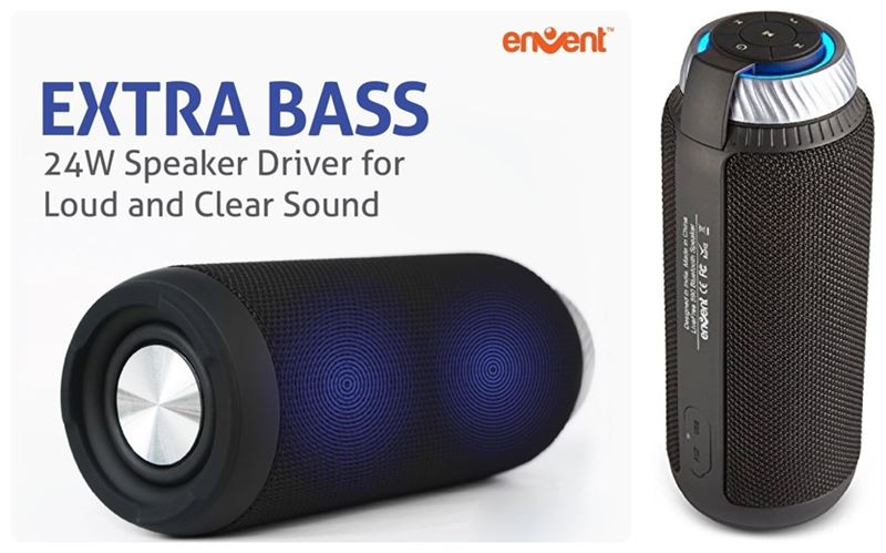 Envent LiveFree 590 Portable Bluetooth Speaker
