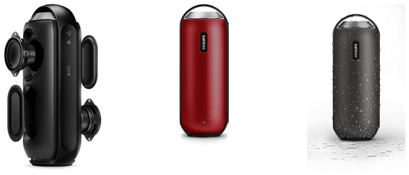Philips BT6000 Portable Bluetooth Speaker