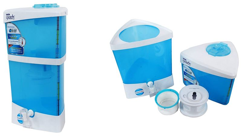 Tata Swach Cristella Plus Non Electric Water Purifier
